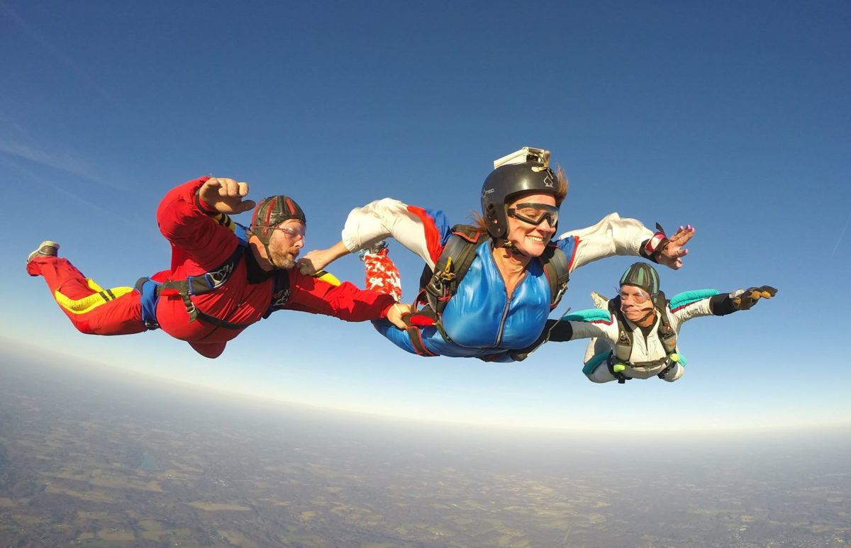 Learn To Skydive In Pa Aff Program Skydive Pennsylvania