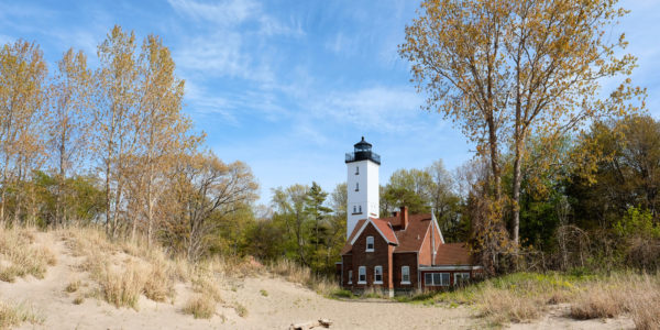 Presque Isle Lighthouse in Erie, PA