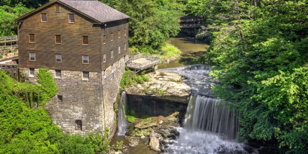 Lanterman's Mill in Youngstown, OH